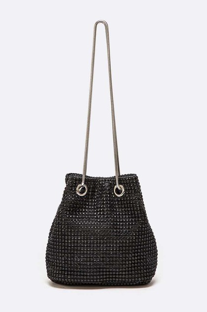 Rhinestone Mesh Mini Convertible For - orangeshine.com