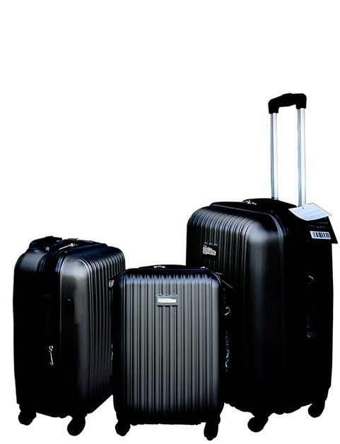 DESIGNER STRIPE MANIA 3 PCS LUGGAGE  - orangeshine.com