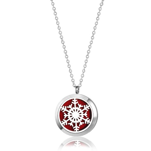 SNOWFLAKE NECKLACE - orangeshine.com