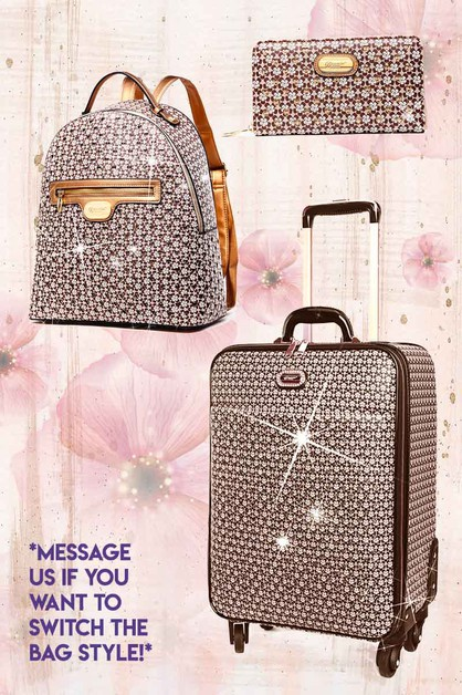 Twinkle Star Matching Backpack Set - orangeshine.com