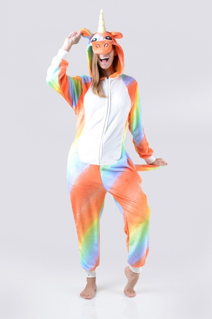 Unicorn Rainbow Animal Onesie - orangeshine.com