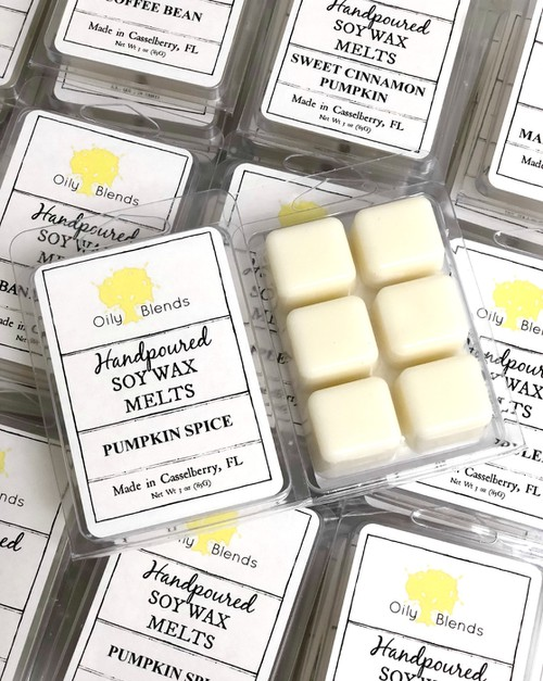 Fall Soy Wax Melts - orangeshine.com