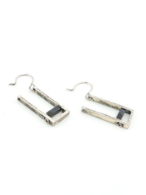 Ontario Rectangle Earrings - orangeshine.com