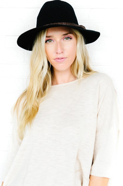 Brooke Panama Hat - orangeshine.com