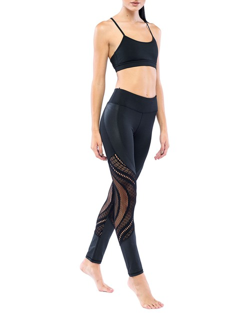 LA Society Crochet Legging - orangeshine.com