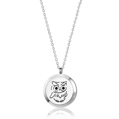 OWL NECKLACE - orangeshine.com