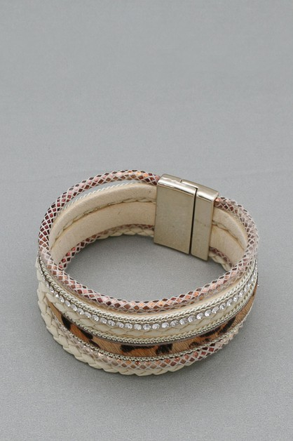 MAGNETIC LOCKBRACELET - orangeshine.com