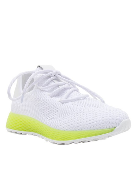 CASUAL NEON SNEAKER WITH LACE - orangeshine.com