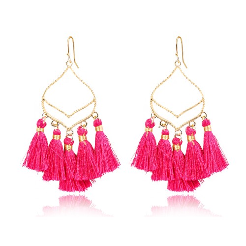 Boho Stylish tassle earrings - orangeshine.com