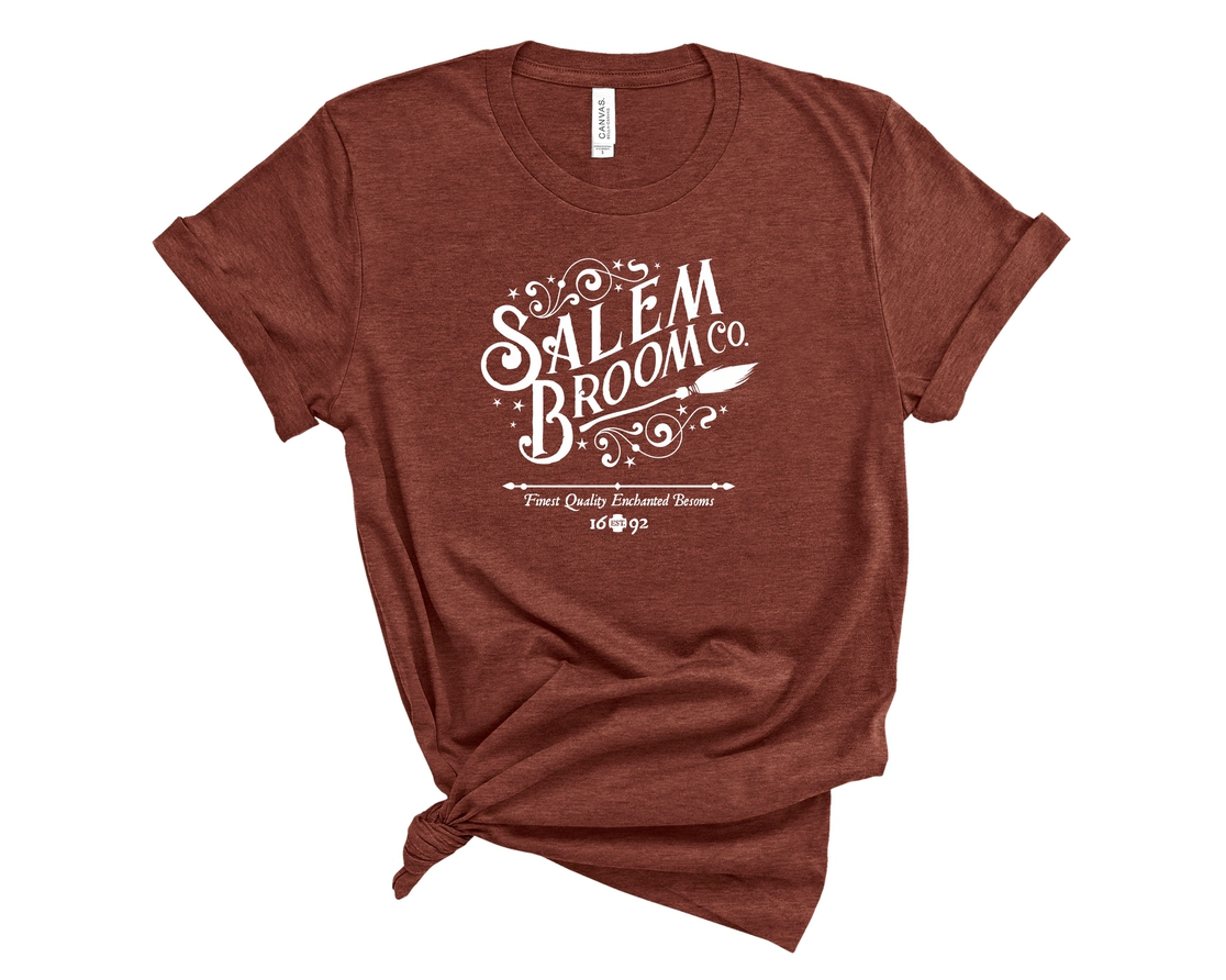 Salem Broom Co Softstyle Tee - orangeshine.com