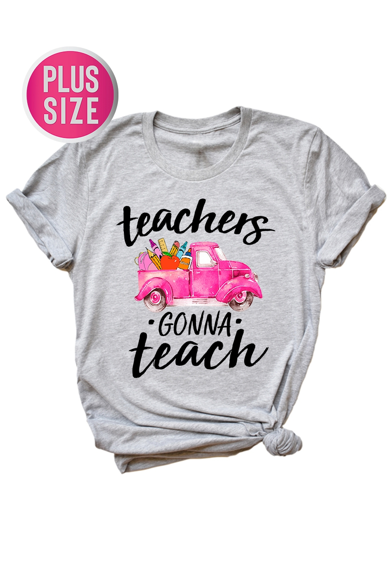 Teachers Gonna Teach  - orangeshine.com