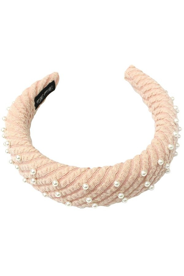 Ribbed terry material headband  - orangeshine.com