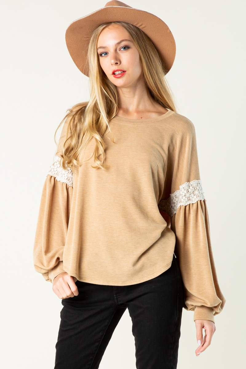 Scoop Round Neck Top - orangeshine.com