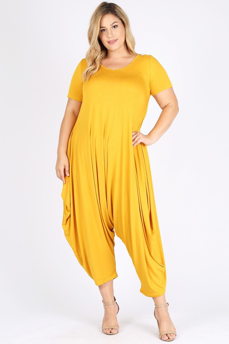 Plus Size Jumpsuit - orangeshine.com