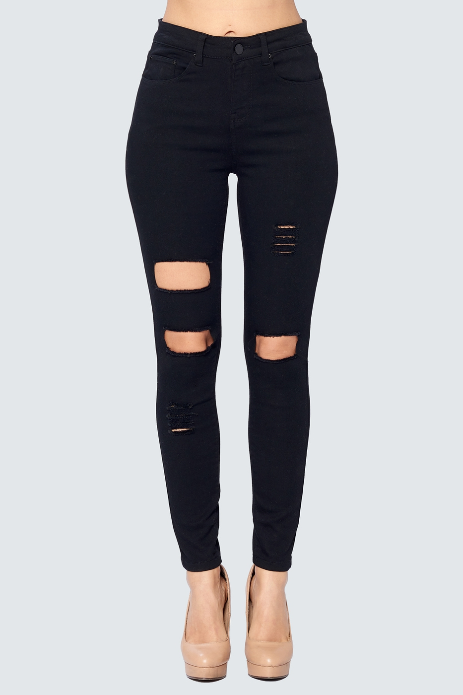 DESTROYED SKINNY JEANS - orangeshine.com