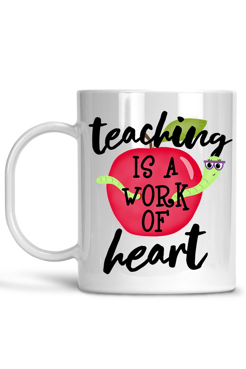 Teaching is a work of Art Coffee Mug - orangeshine.com
