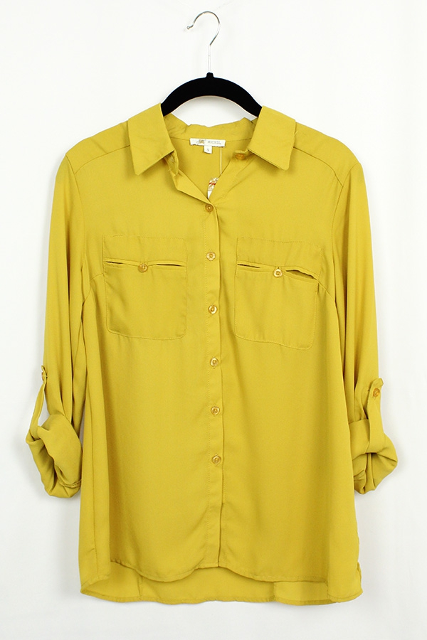 Solid Pocket Shirt - orangeshine.com