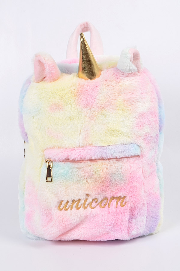 Unicorn Cotton Candy Backpack - orangeshine.com