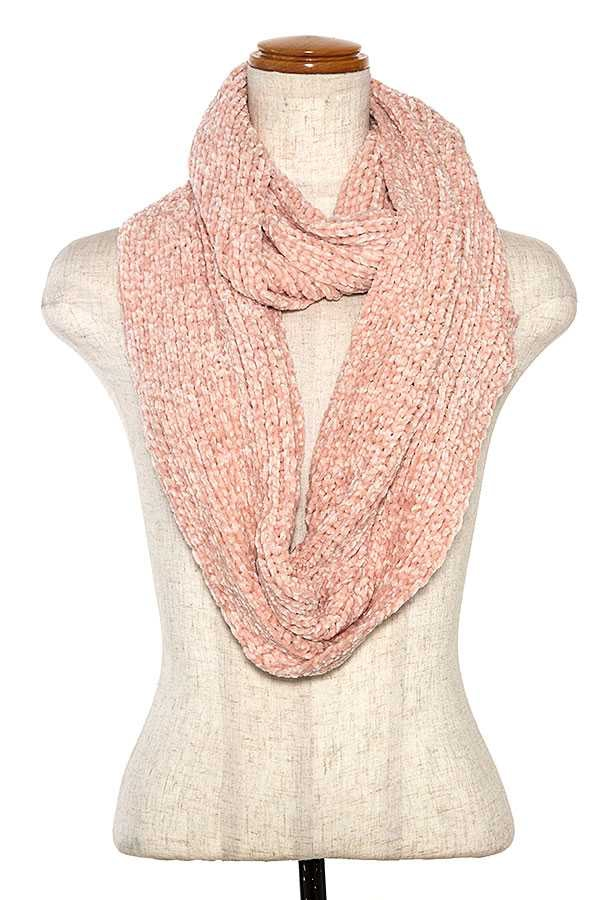 SOFT PLEATED INFINITY SCARF  - orangeshine.com