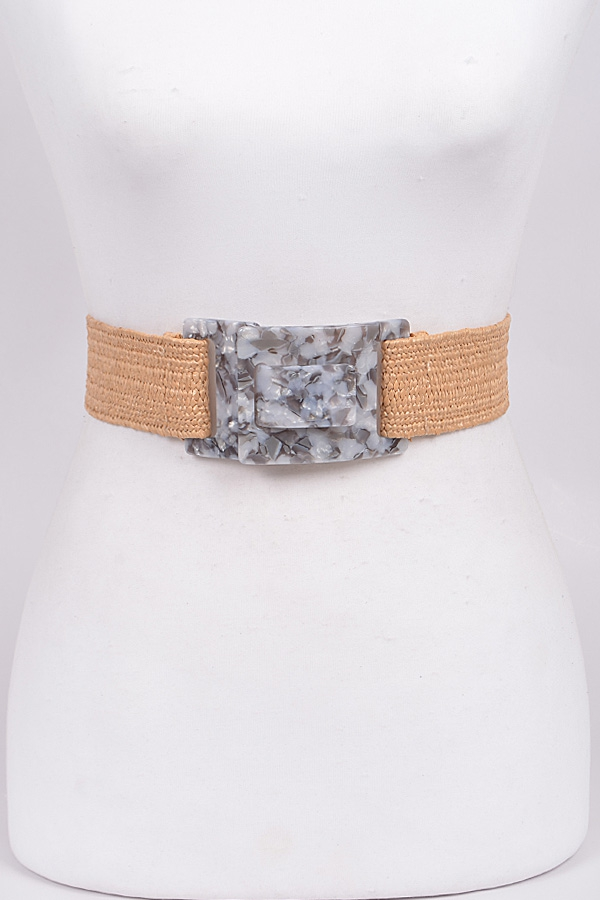 Marbleshell Buckle Belt - orangeshine.com