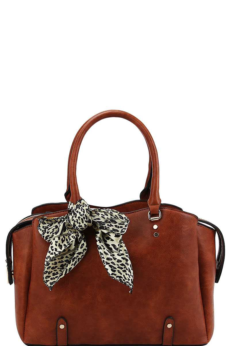 STYLISH TRENDY SCARF SATCHEL  - orangeshine.com