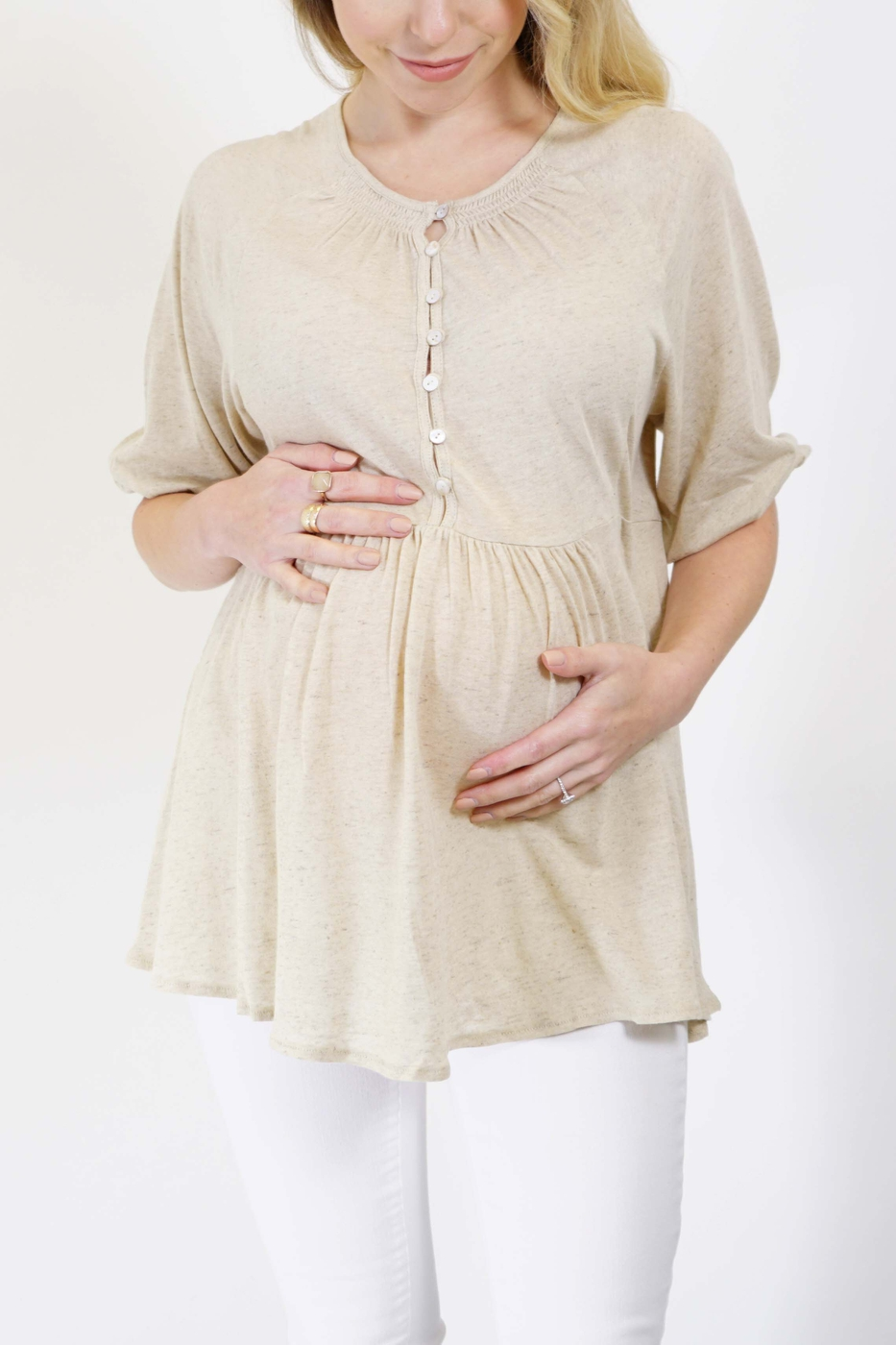 Spring Maternity Top  - orangeshine.com