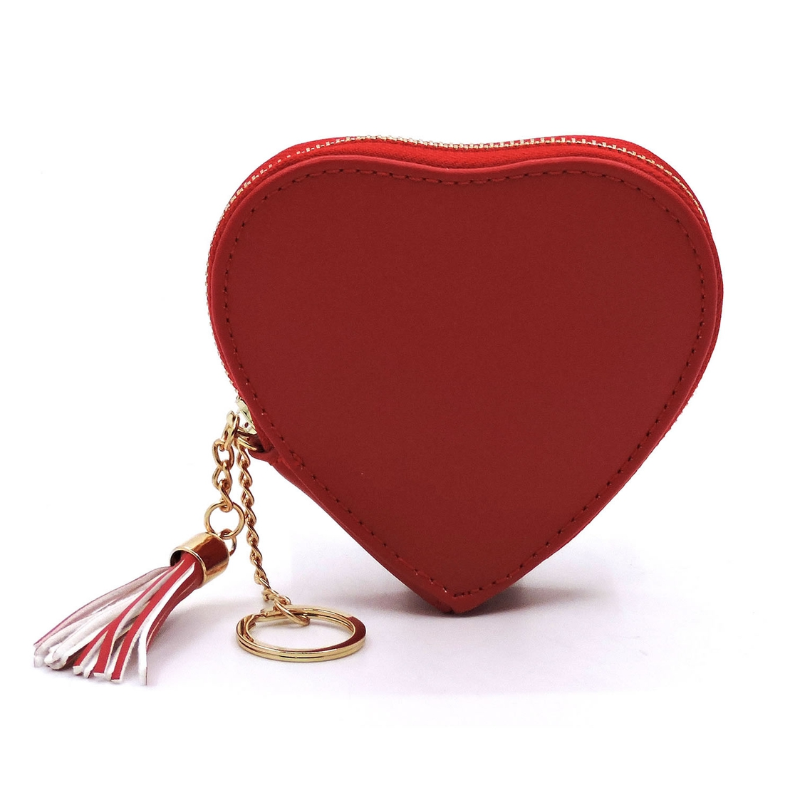Heart Keychain Coin Purse - orangeshine.com