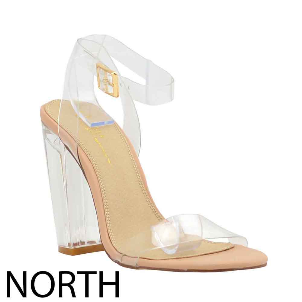 LUCID ANKLE STRAP HIGH HEEL - orangeshine.com