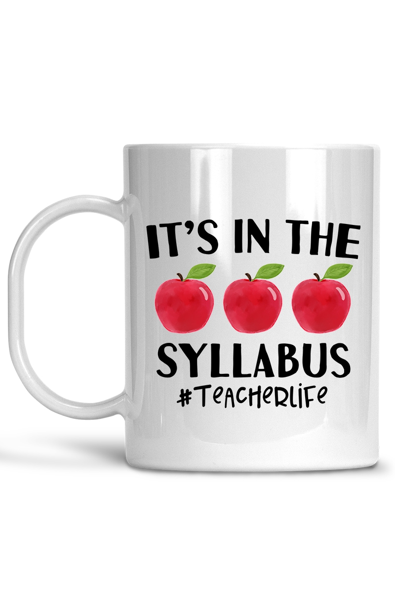 Its in the Syllabus Coffee Mug - orangeshine.com