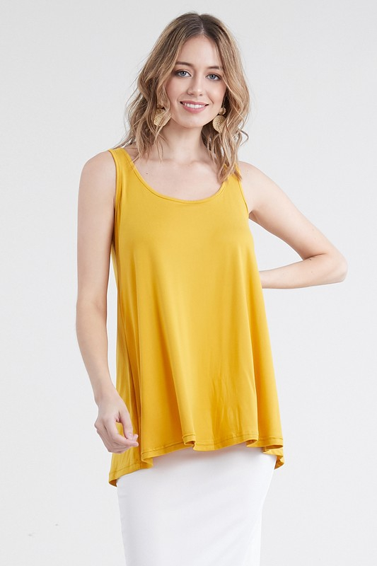 BASIC LOOSE FIT TANK TOP - orangeshine.com