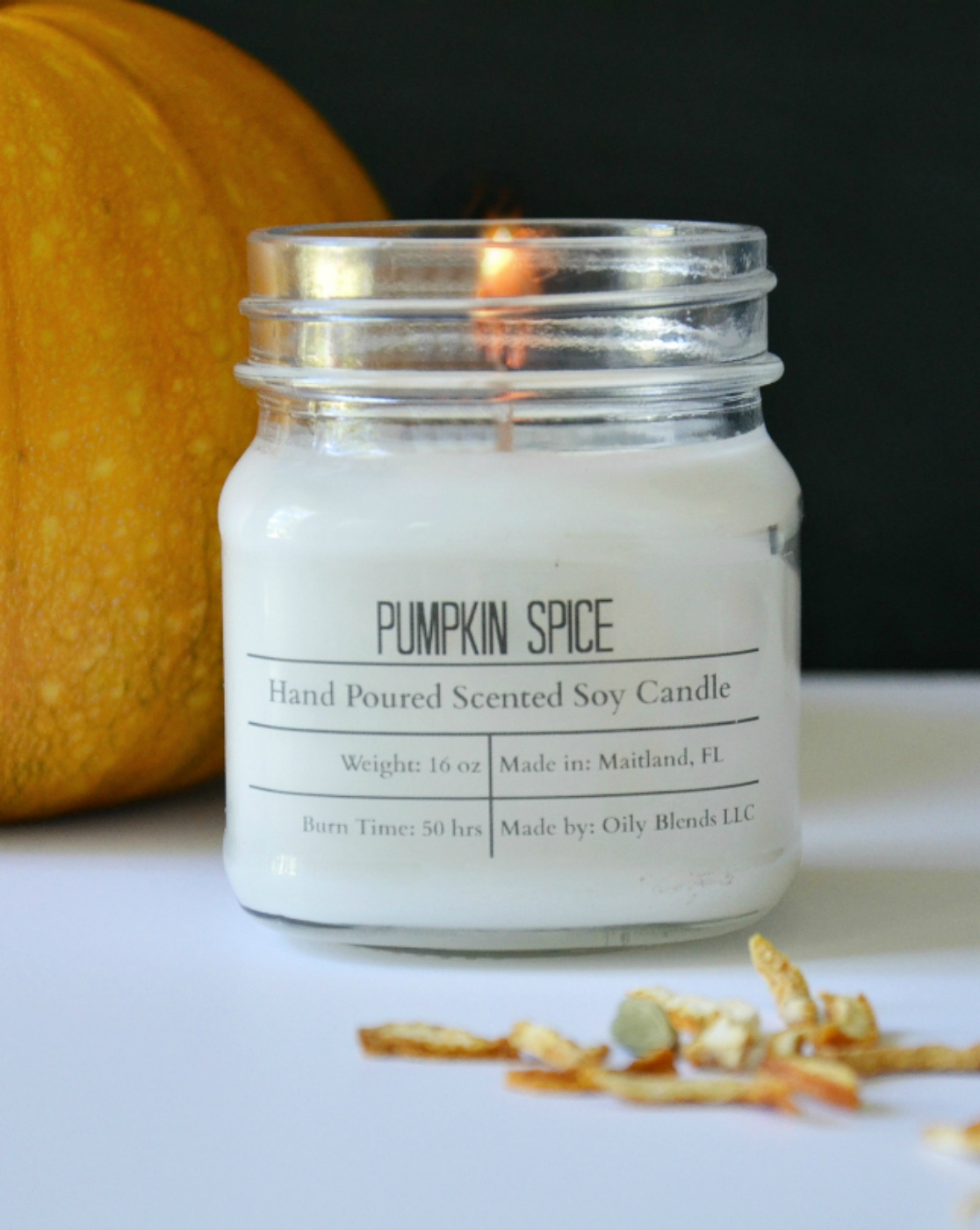 Soy Wax Fall Candle Sampler 8 Pack - orangeshine.com