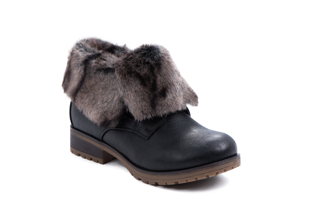 LOW CUT FUR BOOTS - orangeshine.com