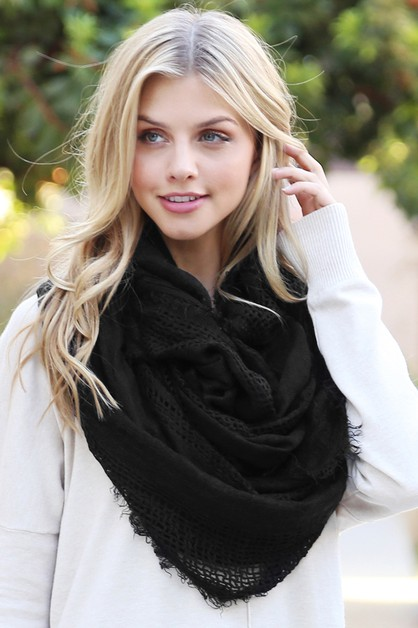 SOFT FALL INFINITY SCARF - orangeshine.com