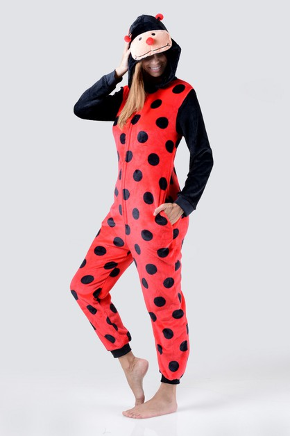 Lady Bug Animal Onesie Pajama - orangeshine.com