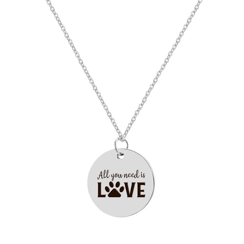 ALL YOU NEED IS LOVE NECKLACE - orangeshine.com