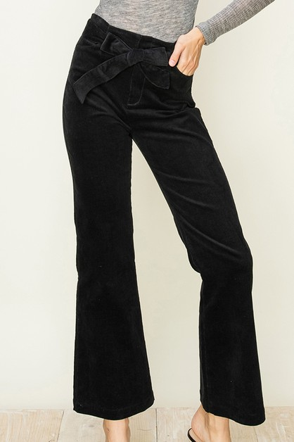 BOOT LEG CORDUROY PANTS - orangeshine.com