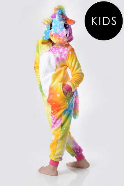 Unicorn Rainbow Star Onesie - orangeshine.com