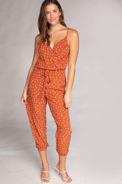 DOUBLE LAYERED LONG TROUSER ROMPER - orangeshine.com