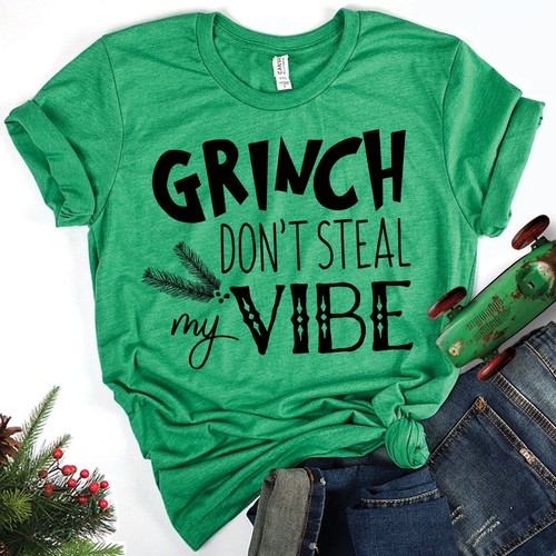 GRINCH DONT STEAL MY VIBE  - orangeshine.com