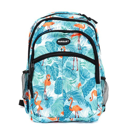 Flamingo Pattern Novelty Backpack - orangeshine.com