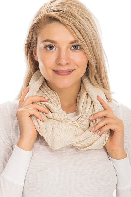 Winter Infinity Scarves - orangeshine.com
