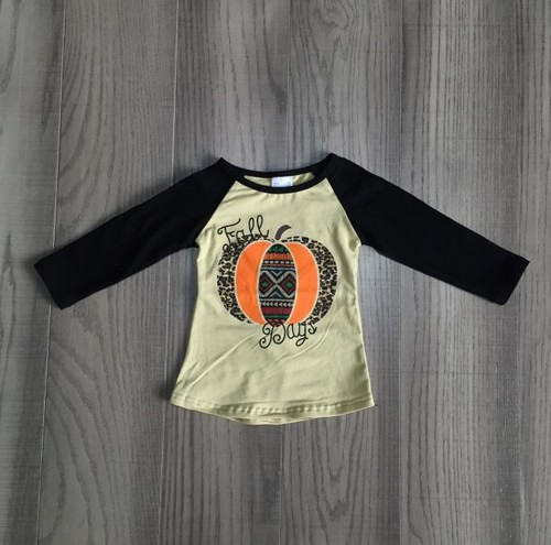 Cheetah aztec  pumpkin Top - orangeshine.com