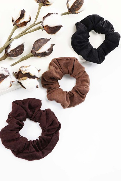 CottonScrunchies - orangeshine.com