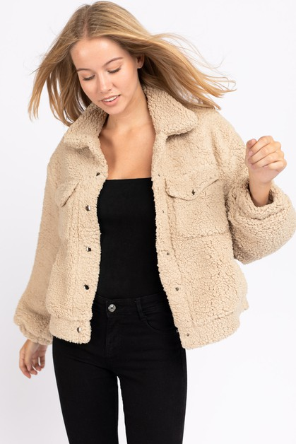 Cozy jacket - orangeshine.com