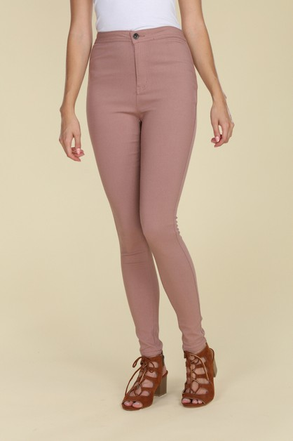 HIGH WAIST SUPER STRETCH JEGGINGS - orangeshine.com