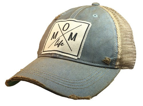 Mom Life with Arrows Trucker Hat - orangeshine.com