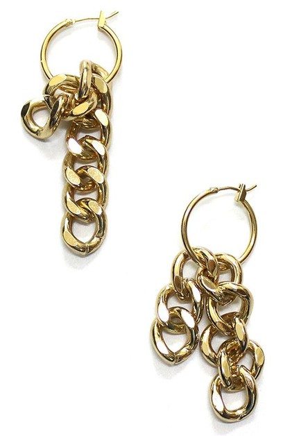 Small hoop earrings - orangeshine.com