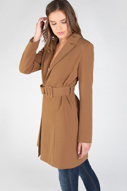 QUARTER LENGTH TRENCH COAT - orangeshine.com
