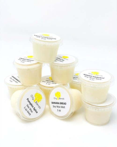 1 oz Fall Soy Wax Melt Sampler - orangeshine.com