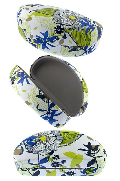 Tropical floral sunglass Hard Case  - orangeshine.com